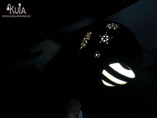 lampara trabajada a mano florek