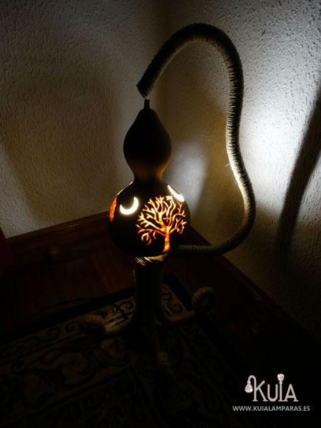 lampara artesanal para niños hontzargi