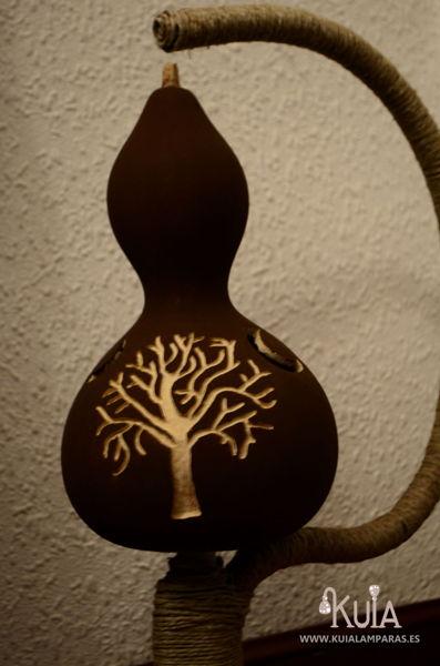 lampara de calabaza tallada hontzargi