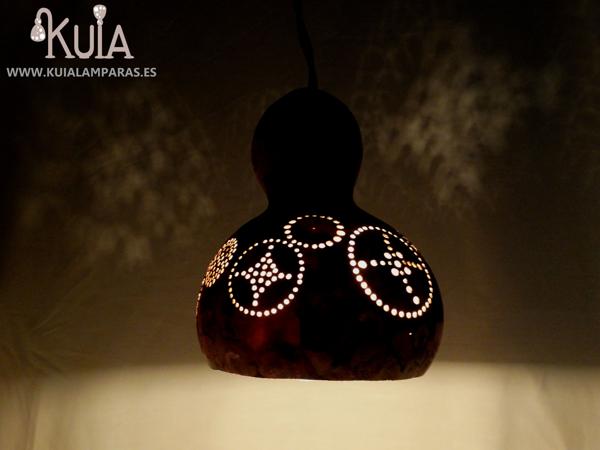 lampara de calabaza tallada eskeia