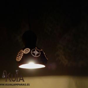 lampara artesanal colgante eskeia
