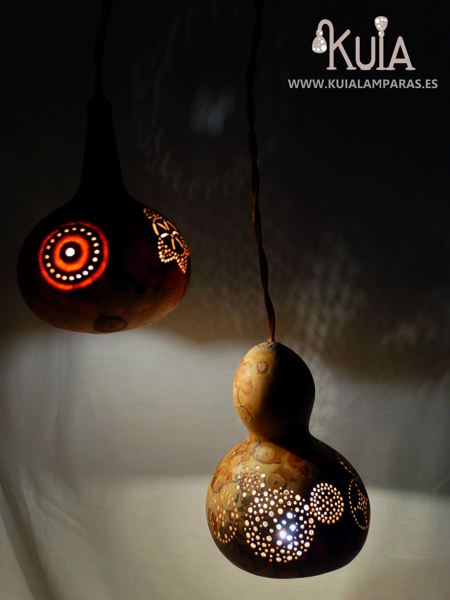 lampara artesanal rustica eskeia