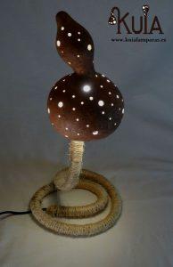 lampara decorativa de bares rusticos serp puntos