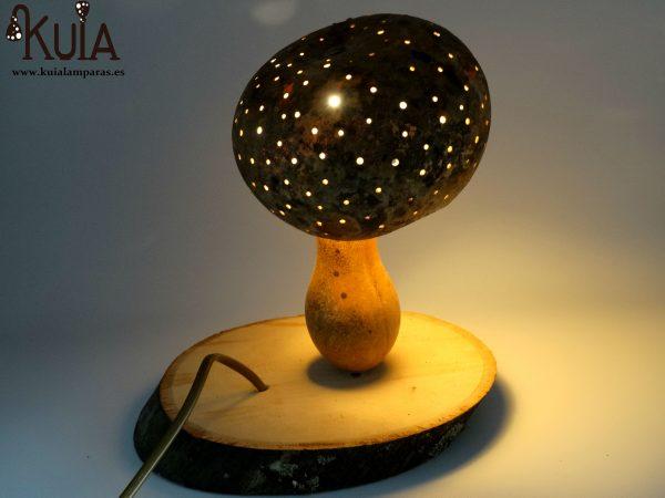 lampara decoracion boletus