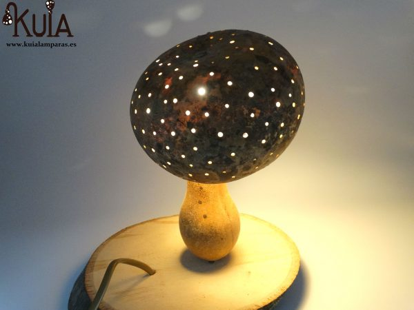 lampara decorativa boletus