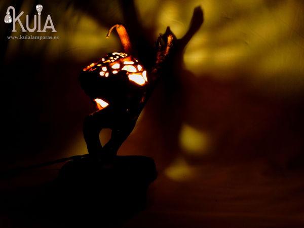 lampara ambiental rustica korn