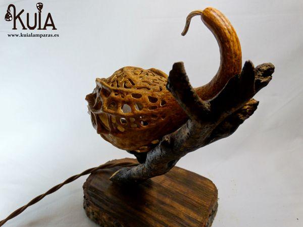 lampara de madera para restaurantes korn