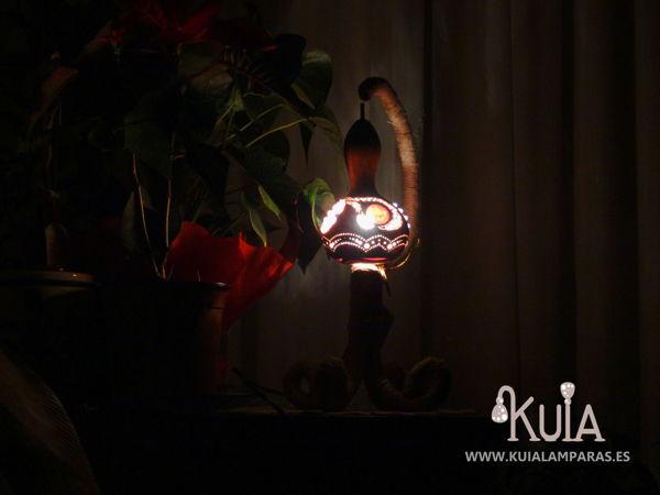 lampara rustica artesanal woornmoon