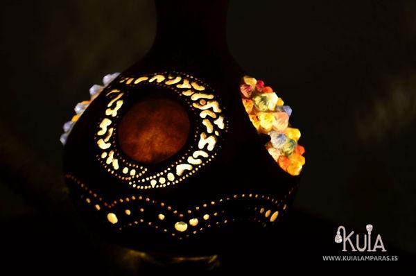 lampara decorativa de interiores wornmoon