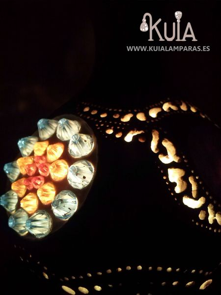 lampara artesanal wornmoon