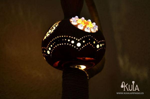 lampara de diseño rustico wornmoon