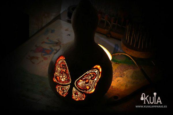 creacion de lampara con mariposas