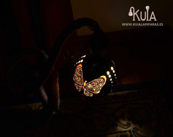 lampara para interiores con mariposas pinpilinpauxa