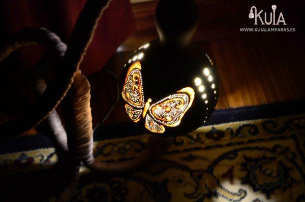 lampara para decorar ecologicamente pinpilinpauxa