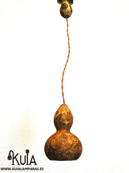 lampara colgante rustica plafonos