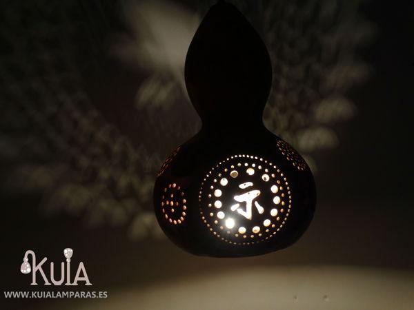 lampara rustica personalizada plafonos