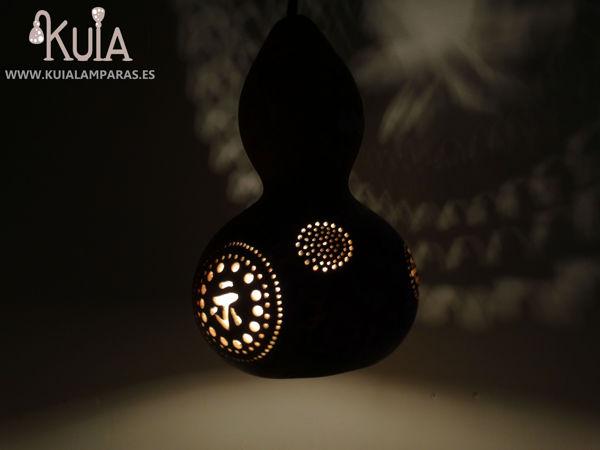 lampara colgante de calabaza plafonos