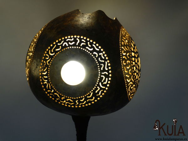 lampara diseño unico zur