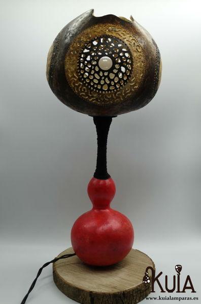lampara decorativa artesanal zur