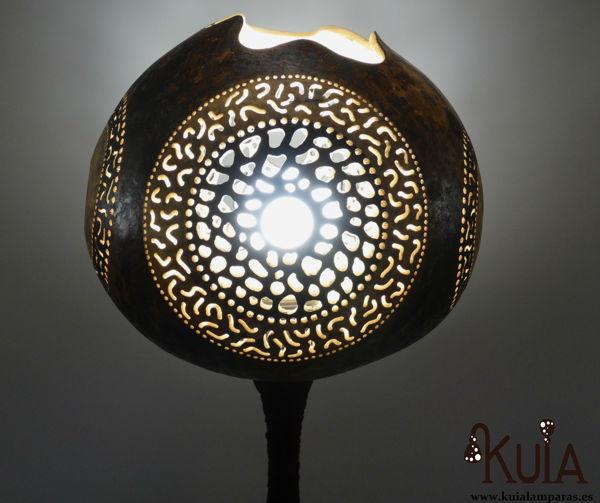 lampara de mesa decorativa zur