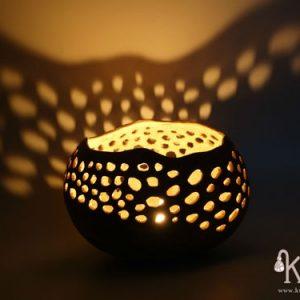 portavelas iluminacion decorativa bee