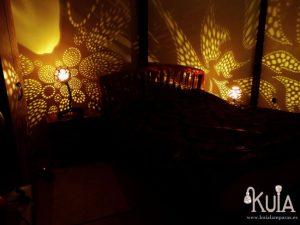 Iluminacion ambiente con lamparas