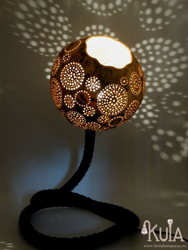 lampara artesanal luz ambiente thisli