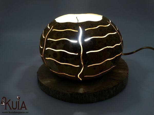lampara de mesilla decorativa