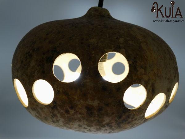 lampara artesana de techo lif