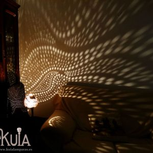 lampara de iluminacion exotica ahat