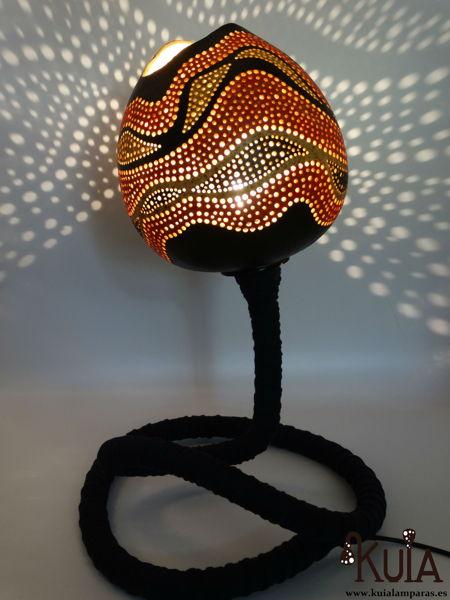 lampara exotica de mesilla ahat