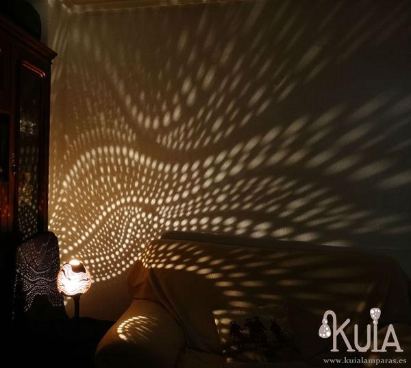 lampara exotica de decoracion ahat