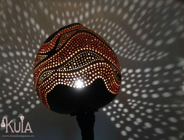 lampara exotica artesana ahat