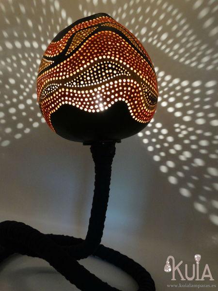 lampara iluminacion exotica ahat
