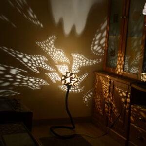 lampara de pie ambiental sua