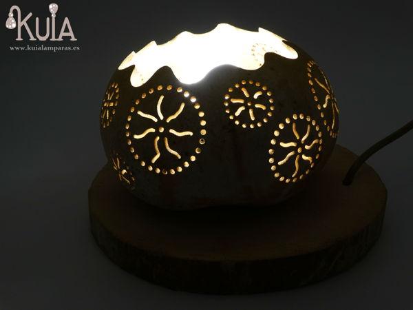 lampara de mesa artesanal rode