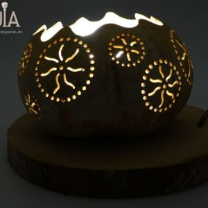 lampara de mesa decorativa rode