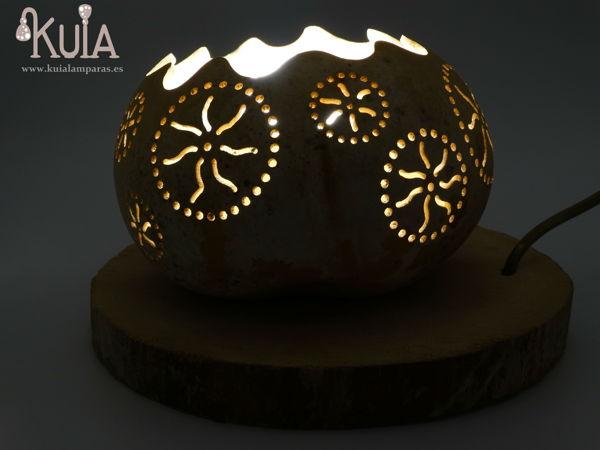 lampara de mesa decorativa rode