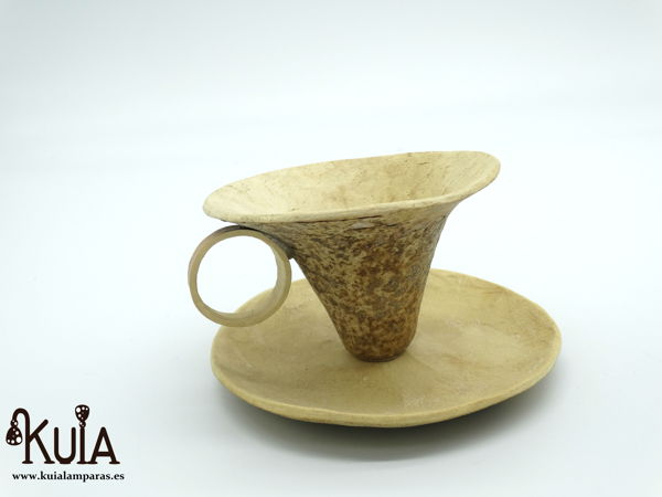 tacita artesanal de calabaza