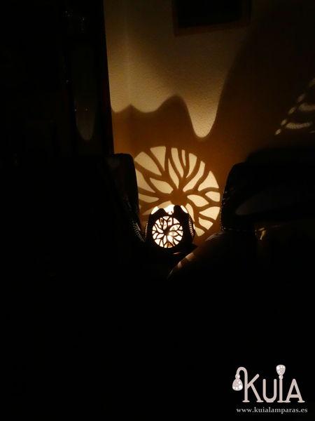 Lámpara ambiental usuar