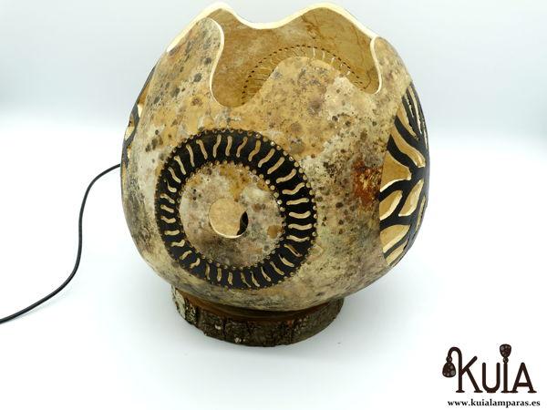 Lámpara de mesilla artesanal usuar
