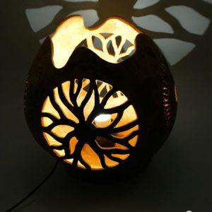 Lámpara de mesilla para cama usuar