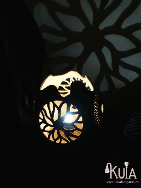 Lámpara ambiental de mesilla usuar