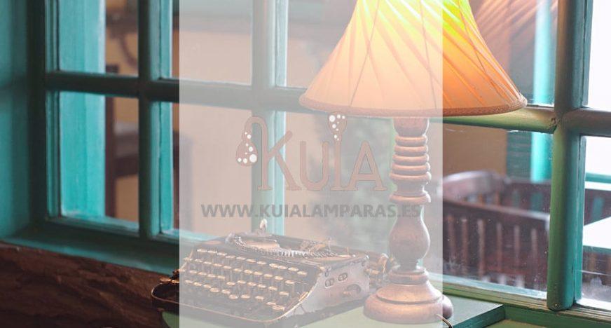 lamparas de mesa artesanales