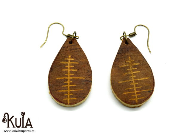 pendientes tallados a mano de calabaza (1)