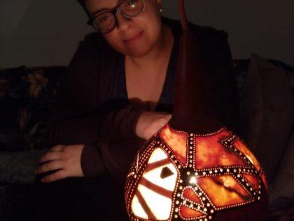 Las lámparas son auténticas obras de arte